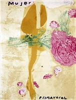 sexual spring-like winter series, mujer primaveral by julian schnabel