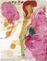 sexual spring-like winter series, otono floral by julian schnabel