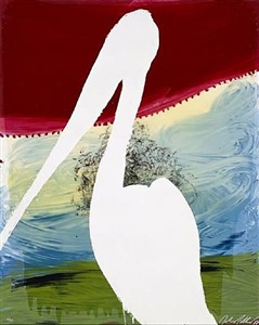 view of dawn in the tropics series, guiseppe (brooding on the vast abyss) by julian schnabel
