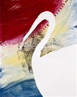 view of dawn in the tropics series, roy by julian schnabel