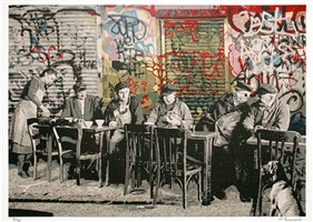 bistro by mr. brainwash