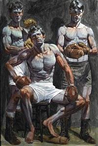 three boxers by mark beard