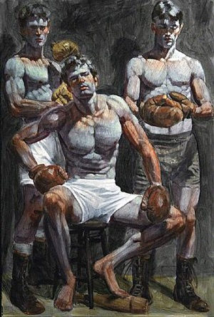 three boxers by mark beard