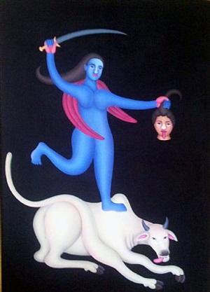 untitled by manjit bawa