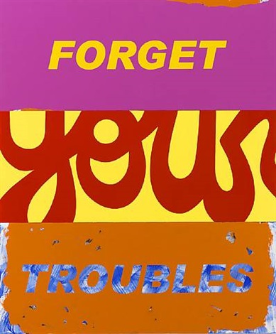 forget your troubles by deborah kass