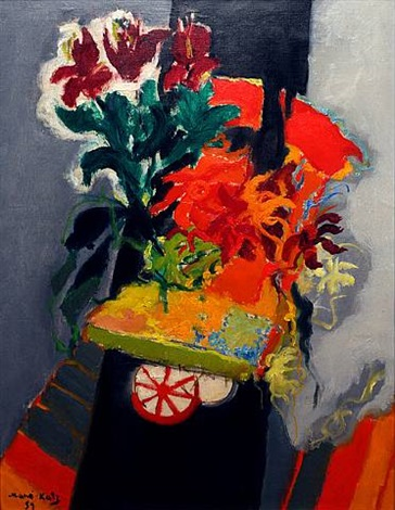 the flower cart by mané-katz