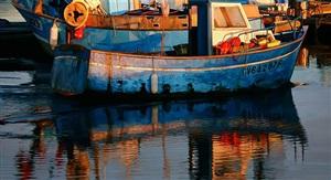 breton fishing boats by roger hayden johnson