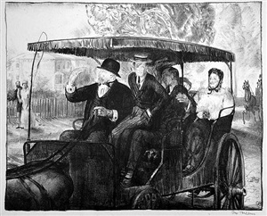 sunday 1897 (sunday, going to church) by george wesley bellows