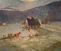 cabane à sucre (sold) by francesco iacurto