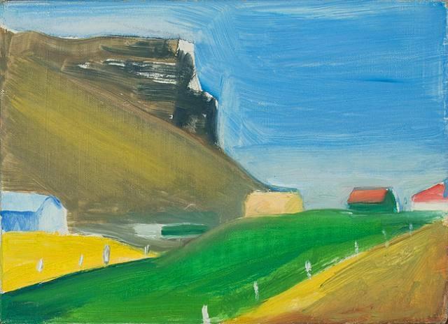 icelandic farm by louisa matthiasdottir