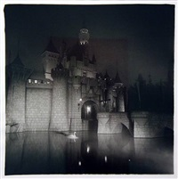 castle in disneyland by diane arbus