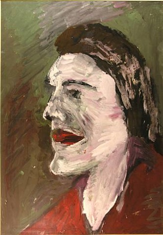 o.t. (portrait im profil) by vladimir yakovlev