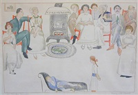 the country sociable by marguerite thompson zorach