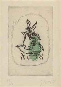bouquet vert by georges braque