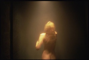sunny in the sauna surrounded by light, l'hotel, paris by nan goldin