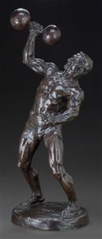 l'haltérophile (the weightlifter) by hans müller
