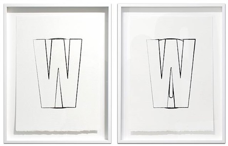 windows (front and rear) by kay rosen
