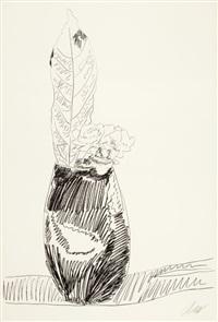 flower screenprint by andy warhol
