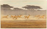 Thomson's Gazelles, 1977, 1977