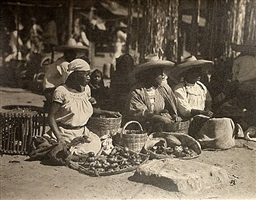 market, women selling tomatoes by ravell