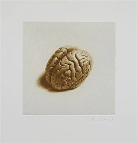 untitled 02, from twelve objects, twelve etchings by rachel whiteread