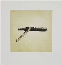 untitled 04, from twelve objects, twelve etchings by rachel whiteread