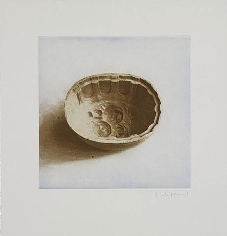 untitled 05, from twelve objects, twelve etchings by rachel whiteread