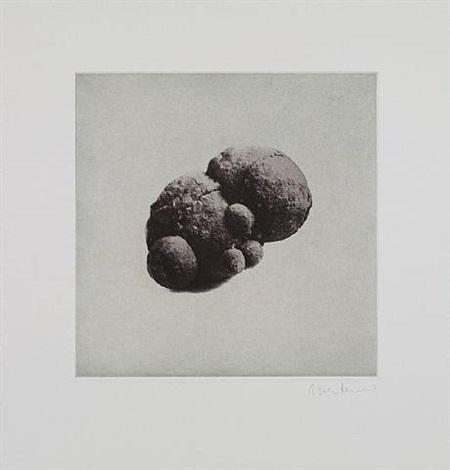 untitled 07, from twelve objects, twelve etchings by rachel whiteread