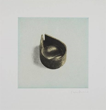 untitled 08, from twelve objects, twelve etchings by rachel whiteread