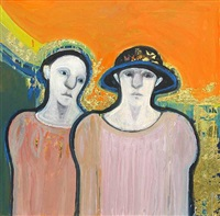 two young women by selina trieff