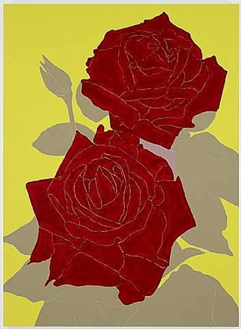 two roses by gary hume