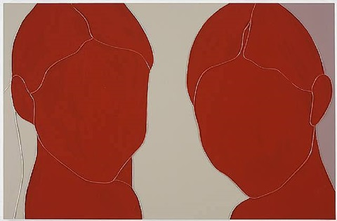 two girls by gary hume