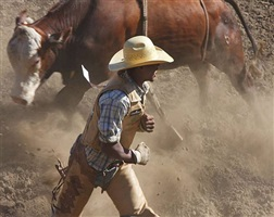 <!--11-->black cowboys: bull riding: jonny allen, bill pickett rodeo, oakland, california by andrea robbins and max becher