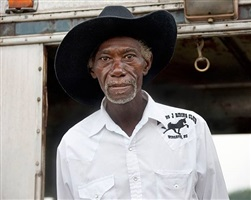 <!--14-->black cowboys: portraits: joel russian, ebony horseman trail ride, shelby, north carolina by andrea robbins and max becher