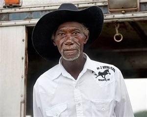 <!--14-->black cowboys: portraits: joel russian, ebony horseman trail ride, shelby, north carolina by andrea robbins and max becher