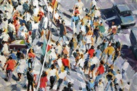 horizontal crowd by david kapp