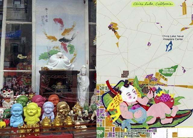 china is near #4 by joyce kozloff