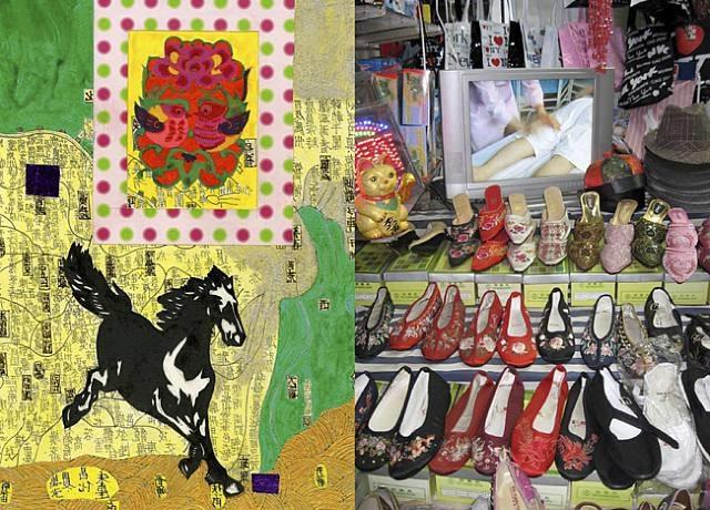 china is near #8 by joyce kozloff