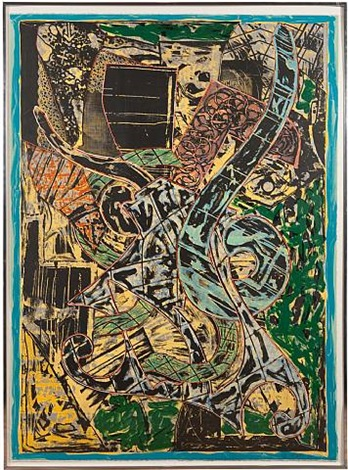 yellow journal by frank stella