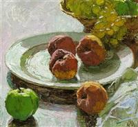 stilleben mit früchten by carl moll