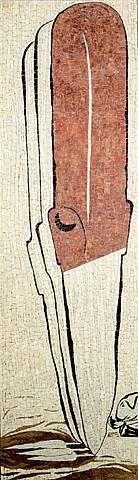 untitled (mosaic) by enzo cucchi