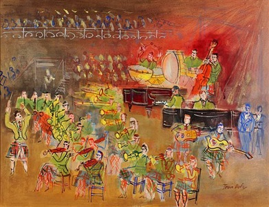 avenue armory show by jean dufy