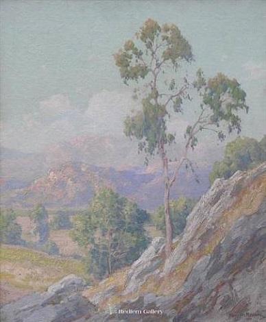 eucalyptus & hills riverside, ca by maurice braun