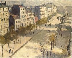 avenue de versailles by albert marquet