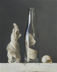 message in a bottle (sold) by sadie j. valeri