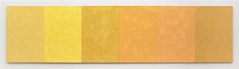 sun painting: 6 brands of naples yellow by merrill wagner