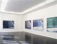 installation view by beat streuli