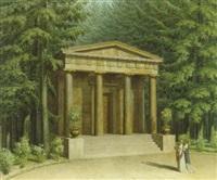 das mausoleum der königin luise im charlottenburger schloßpark by johann erdmann hummel