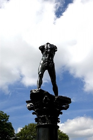 homme qui marche by auguste rodin