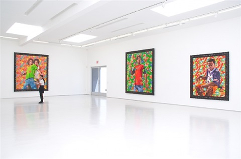 installation view, the world stage: brazil at roberts & tilton